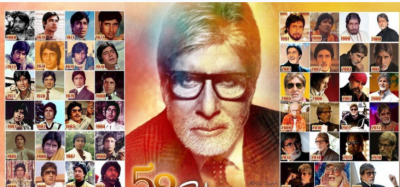 Amitabh shared picture of each of his characters on completion of 52 years in Bollywood