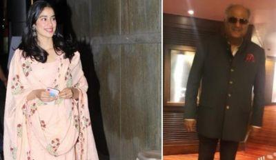 Boney Kapoor reduced the weight, see Janhavi Kapoor's reaction