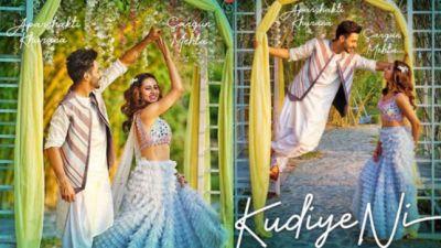 Aparshakti Khurana's debut music album 'Kudiye Ni' released