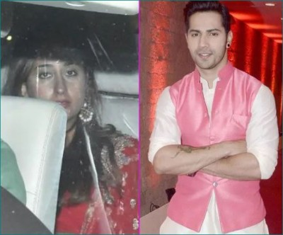 Girlfriend Natasha observed Karwa Chauth fast for Varun Dhawan, Pictures surfaced