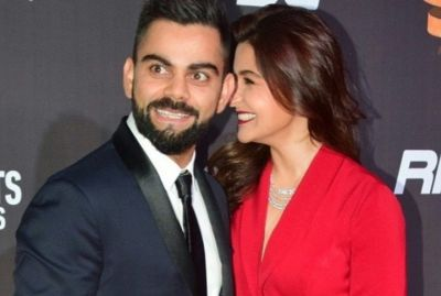 Virat and Anushka's latest romantic photo will give you couple goals