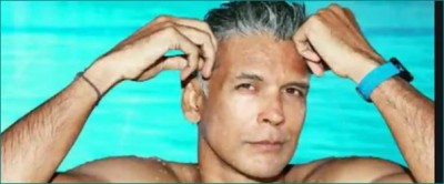 Milind Soman booked for running unclothed on Goa beach