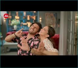 Ranveer Singh shares video of commercial ad with Deepika Padukone