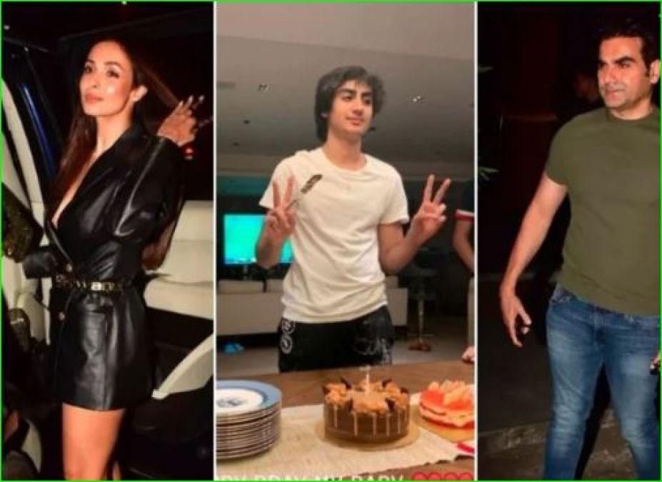 बेटे अरहान के जन्मदिन पर मलाइका की पार्टी में पहुंचे अरबाज खान, शेयर की तस्वीरें