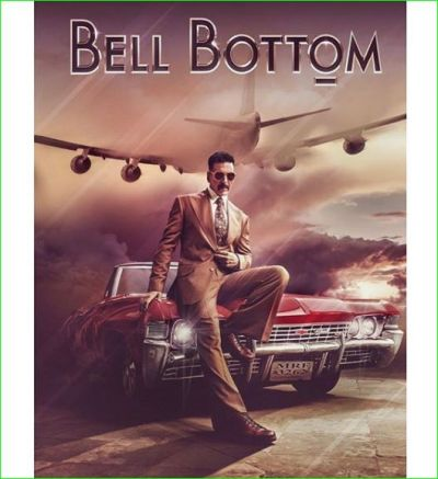 The first look of Akshay Kumar's next film 'Bell Bottom' surfaced