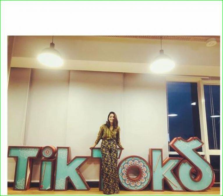 Yami Gautam enters on Tik Tok, first video going viral