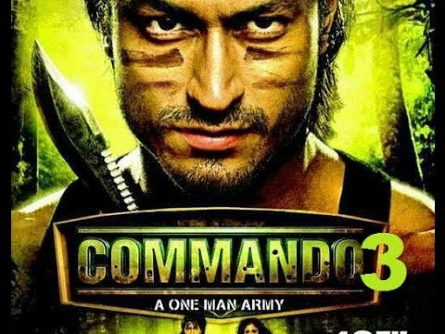 Commando 3 song Akhiya Mila Wanga released, Witness Vidyut and Adahs stunning