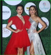 Three Bollywood beauties were in a hot look at the awards night, see pictures