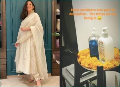 Pregnant Anushka Sharma celebrates the 'Corona Diwali' in this way