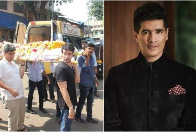 Famous designer Manish Malhotra's father died; Celebs expressed deep condolences