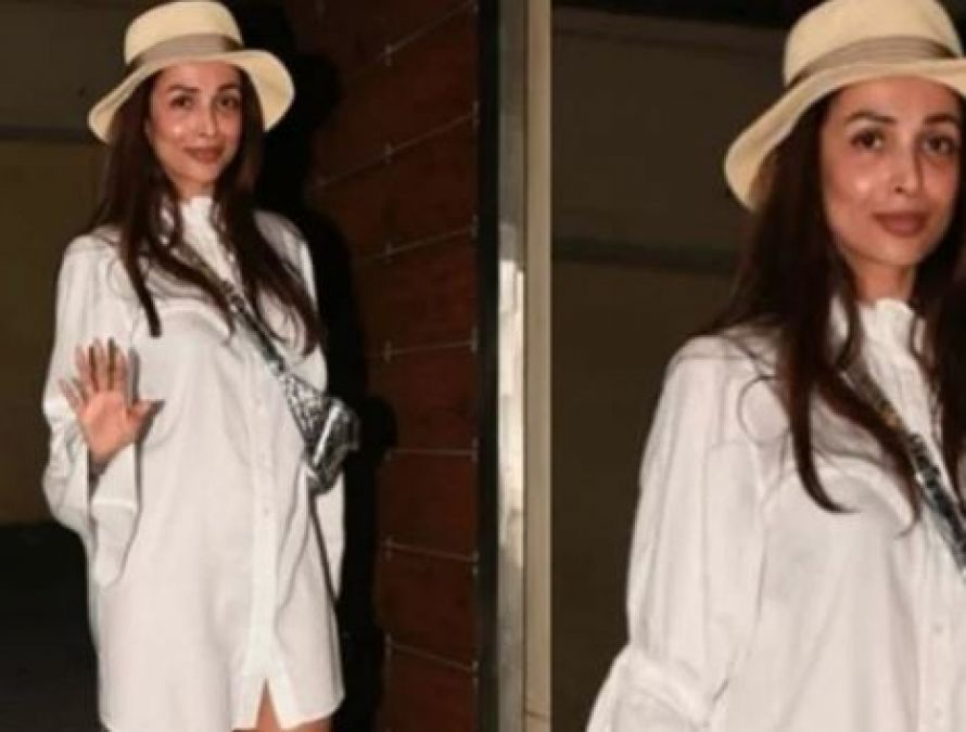 Malaika once again became a victim of trolling, only seen in shirt late at night