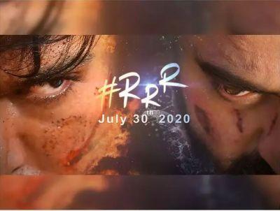 RRR मूवी का पोस्टर हुआ रिलीज, 2020 तक सिनेमाघरों में देगी दस्तक