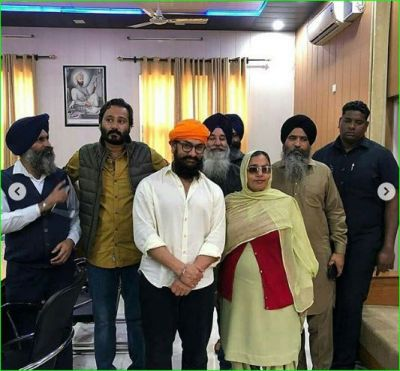 Aamir Khan arrives at Gurdwara Shri Bhatta Sahib, photos surfaced