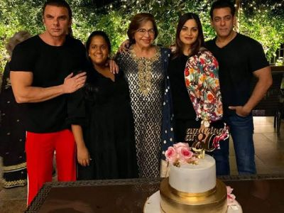 Khan family holds grand party on Helen's birthday,  Waheeda and Asha Parekh Hui were also present