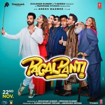 Film Pagalpanti released in theaters today, Here's how fans react