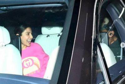 Anushka Sharma surprised Virat at the airport