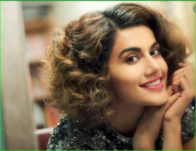 When the young man told Taapsee, 'Talk in Hindi', the actress gave a befitting reply