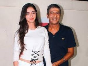 Kapil Sharma Show: Ananya Pandey complains about her father Chunky Pandey, because of this she is angry