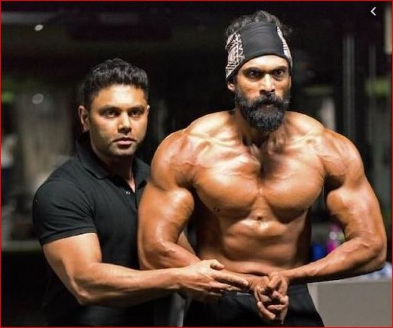 Bhalaldev of Bahubali once looked like Hulk, now difficult to identify