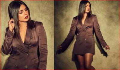 you will be shocked to hear the price of this blazer of Priyanka Chopra