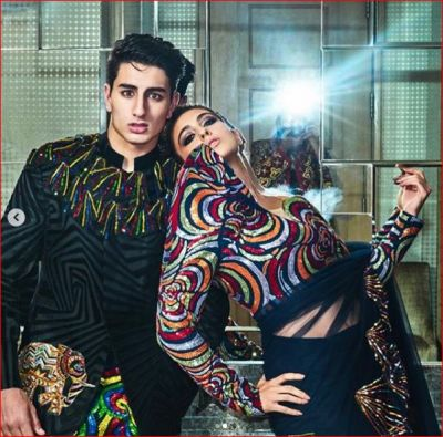 Sara and her brother Ibrahim's photoshoot for Hello magazine, see pictures