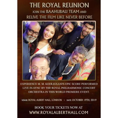 Prabhas will soon join Royal Reunion in London with his Bahubali team
