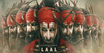 Laal Kaptaan: Saif Ali Khan gets deep eye injury, bad face, see photo here