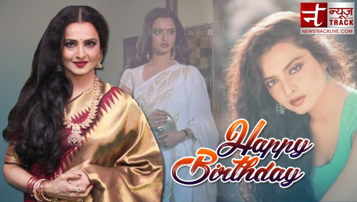 Birthday: Rekha wanted Amitabh for her entire life, openly ...
