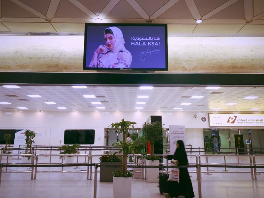 Jacqueline Fernandez becomes the first female celebrity whose pictures got featured at Casa Airport