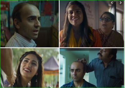 Ayushmann Khurrana came to give a double dose of laughter as Bala, watch the amazing trailer