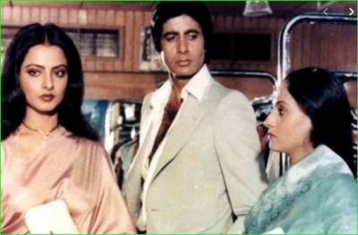 An incident which made Rekha leave Amitabh Bachchan, you will be surprised to the know