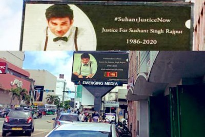 Now, 'Justice for Sushant Singh Rajput' billboards takes over this country