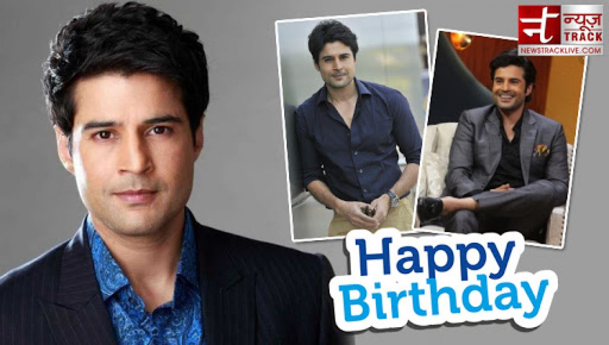 Rajeev Khandelwal is celebrating his birthday, made his debut with this film