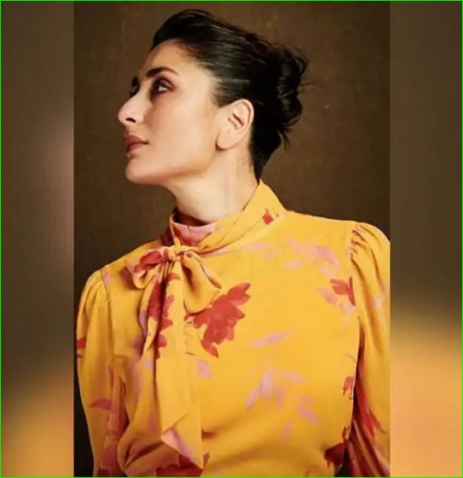 Kareena looks stunning in a yellow floral dress, see pictures