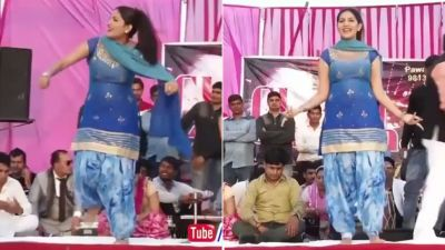 Seeing Sapna Chaudhary's dance, fans go crazy, Video set fire on the Internet!