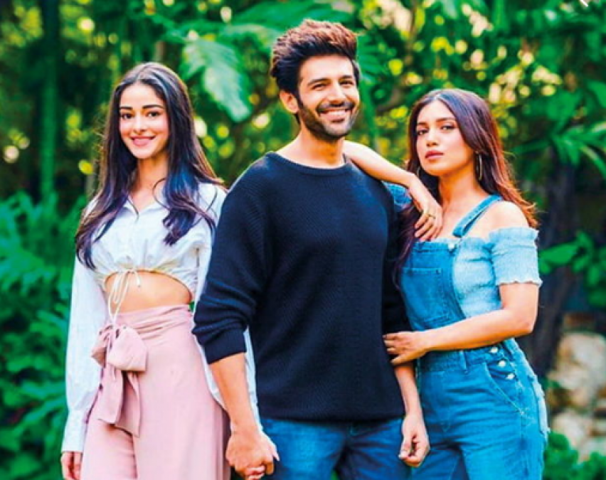 New poster of 'Pati, Patni Aur Woh' released, Kartik, Ananya and Bhumi seen together