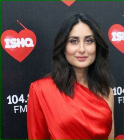 Kareena Kapoor Khan looks amazing in a red dress