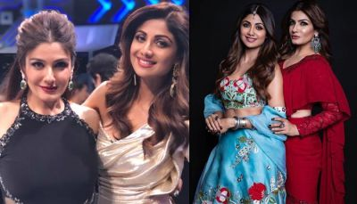 Shilpa Shetty and Raveena Tandon also observed the fast of Karva Chauth