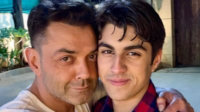 Bobby Deol was asked a question about his son's Bollywood debut, gave this answer