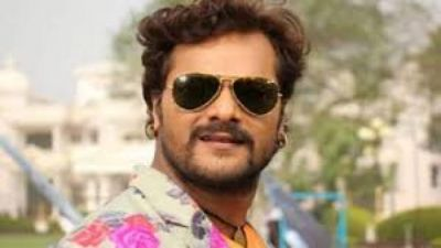 Khesari Lal Yadav is shooting in London, co-star  also spotted with him