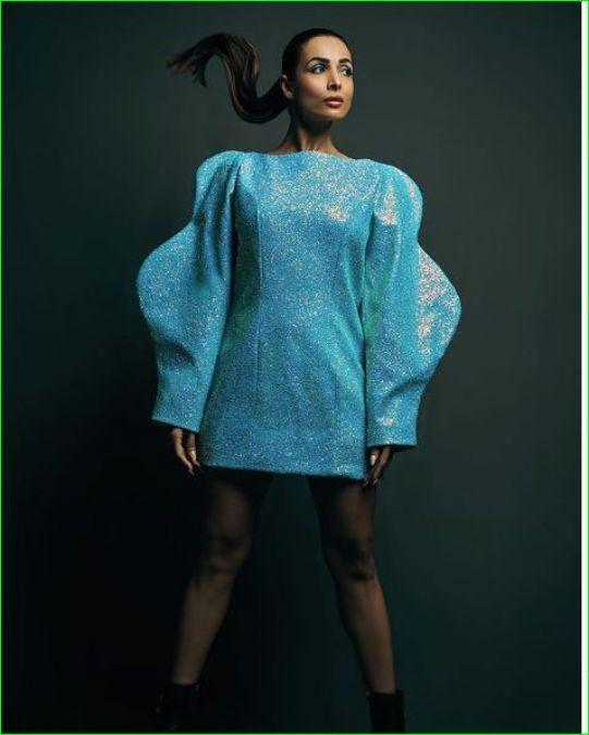 Malaika Arora stuns in blue dress, check it out here