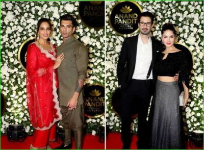 Bollywood stars were seen in a very beautiful style at Diwali party