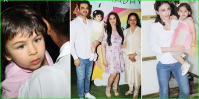 Taimur and Inaya robbed all limelight on Esha Deol's daughter's birthday party, see pics!