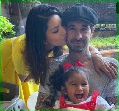 बच्चों के साथ जमकर सनी ने मनाया पति का जन्मदिन, दिया यह ख़ास तोहफा