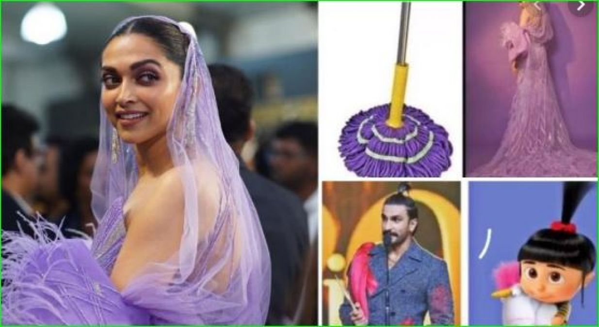 Deepika told herself as Ranveer's favorite candy, shared a funny meme