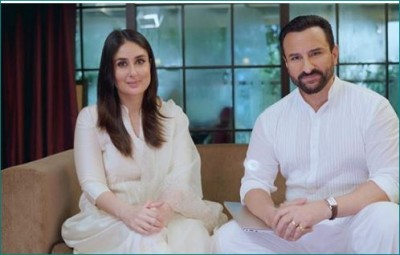 Saif Ali Khan gives such reaction on Kareena's second pregnancy