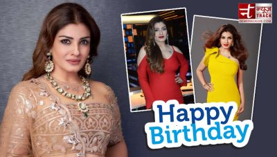 Birthday: Raveena Tandon was crazy in love with this actor, has tried to commit suicide