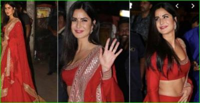 Katrina soared temperatures high at the Bachchan party, looked stunning