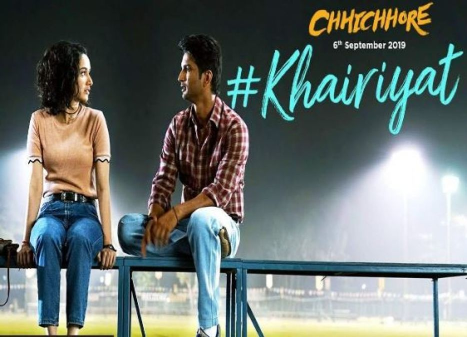 Khairiyat: Chhichhore's third song released, see Sushant-Shraddha's cute love story!
