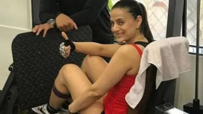 Ameesha Patel shared a video of workout, looks stunning in the gym wear